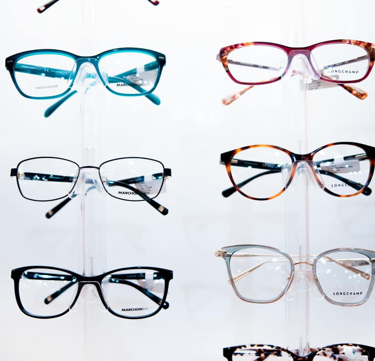 glasses wall